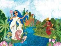 The Mahabharata: Children's Illustrated Classics  - 1