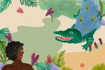 Watuwe the Mighty Crocodile (from Rangkaian Andara Nusantara) - 3